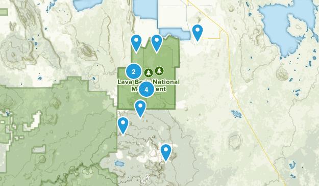 Tulelake, California Walking Map