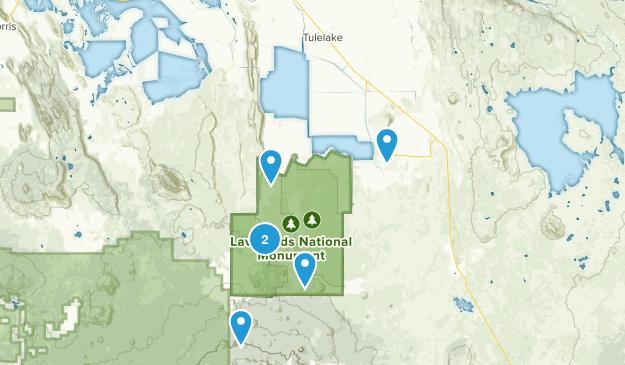 Tulelake, California Wildlife Map