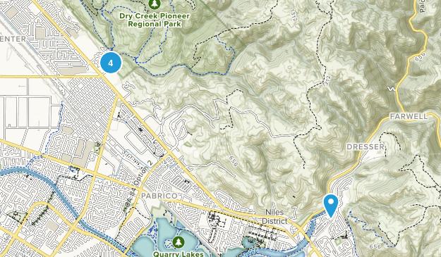 Union City, California Dog Friendly Map