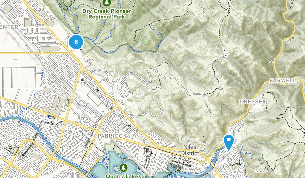 Union City, California Views Map