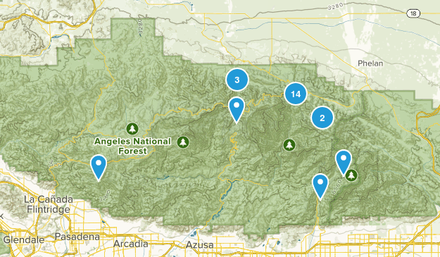 Valyermo, California Birding Map