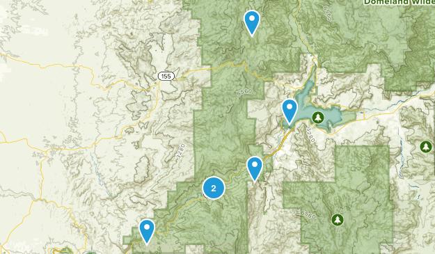 Wofford Heights, California Walking Map