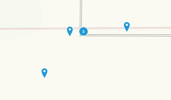 Yontocket, California Walking Map