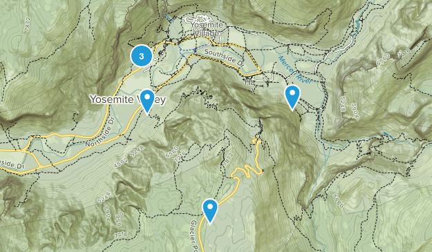 Yosemite Village, California Wildlife Map