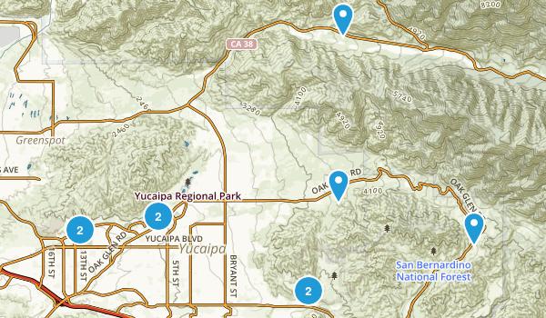 Best Mountain Biking Trails near Yucaipa California AllTrails