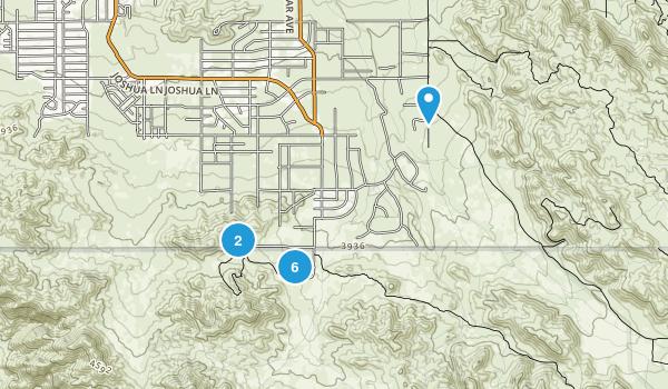 Yucca Valley, California Birding Map