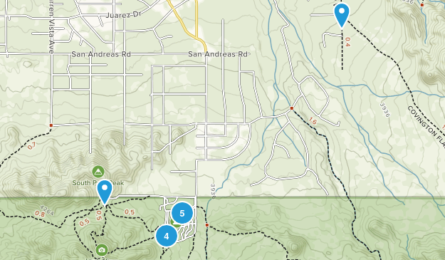 Yucca Valley, California No Dogs Map