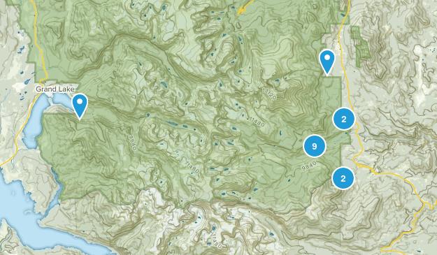 Allenspark, Colorado Birding Map
