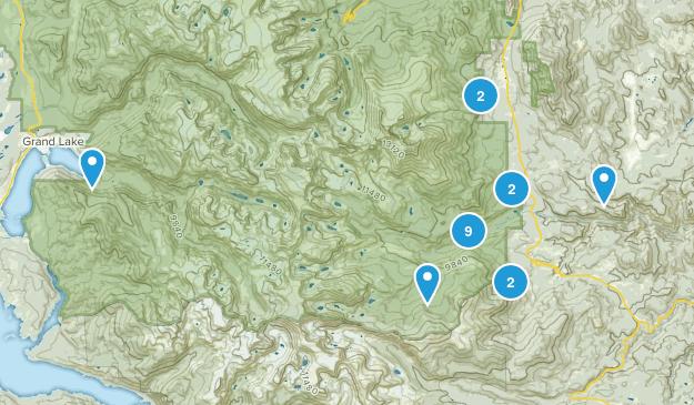 Allenspark, Colorado Views Map