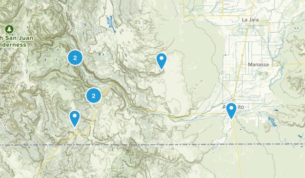 Antonito, Colorado Views Map
