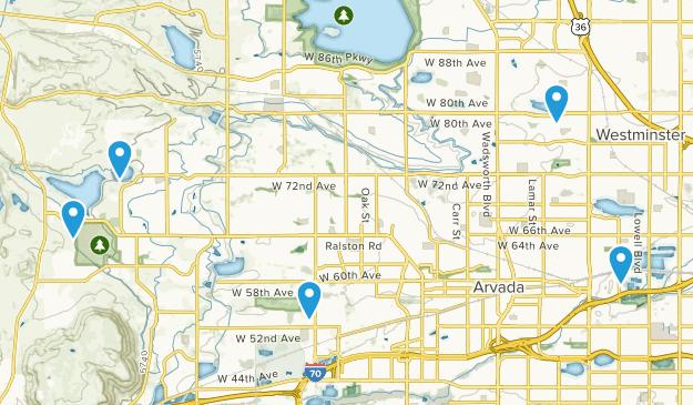 Arvada, Colorado Kid Friendly Map