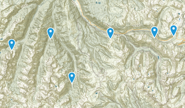Aspen, Colorado Fishing Map