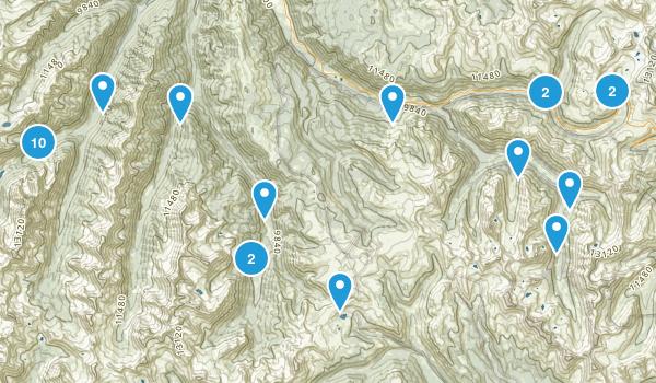 Aspen, Colorado Lake Map
