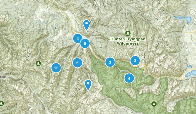 Aspen, Colorado Nature Trips Map