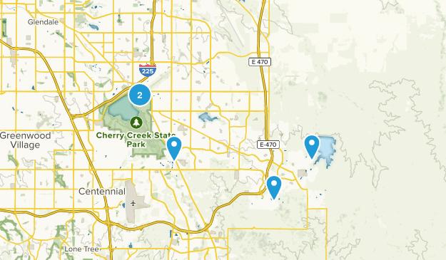 Aurora, Colorado Dogs On Leash Map