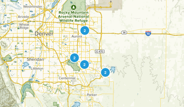 Aurora, Colorado Kid Friendly Map