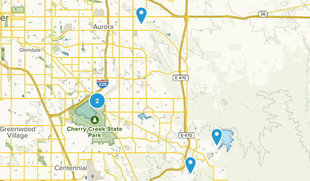 Aurora, Colorado Road Biking Map