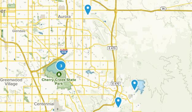 Map of Road Biking Trails near Aurora, Colorado | AllTrails