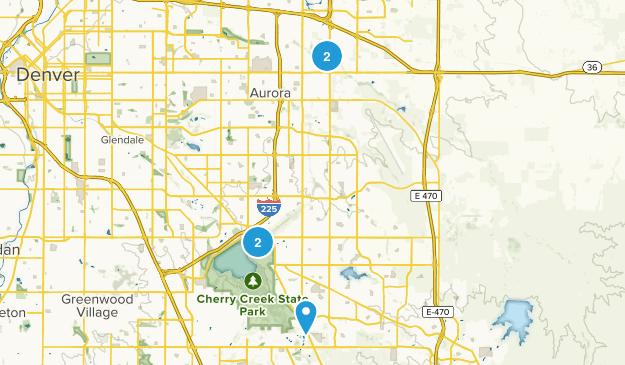 Aurora, Colorado Wildlife Map