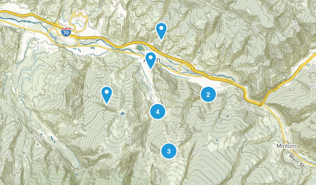 Avon, Colorado Birding Map