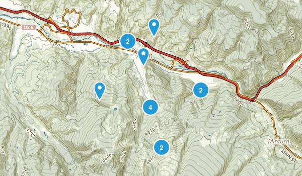 Avon, Colorado Walking Map