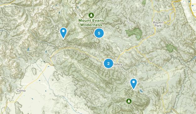 Bailey, Colorado Wildlife Map