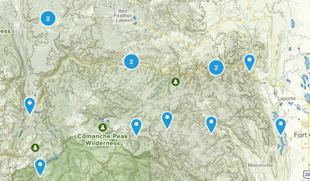 Bellvue, Colorado Dog Friendly Map
