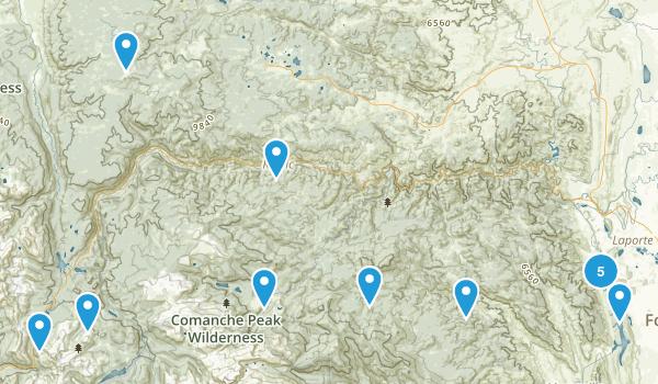 Bellvue, Colorado Kid Friendly Map