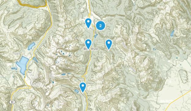 Breckenridge, Colorado Off Road Driving Map
