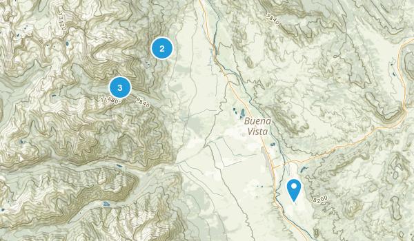 Best Dog Friendly Trails Near Buena Vista Colorado AllTrailscom - Buena vista on us map