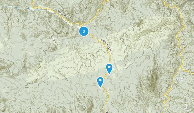 Buffalo Creek, Colorado Hiking Map