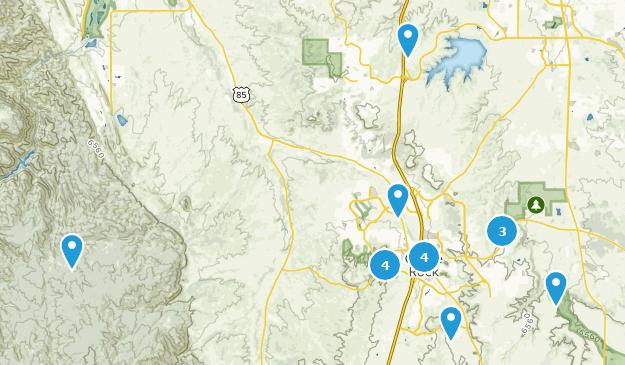 Castle Rock, Colorado Bird Watching Map