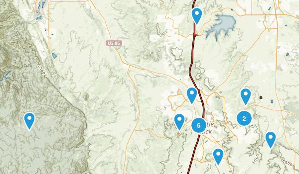 Castle Rock, Colorado Walking Map