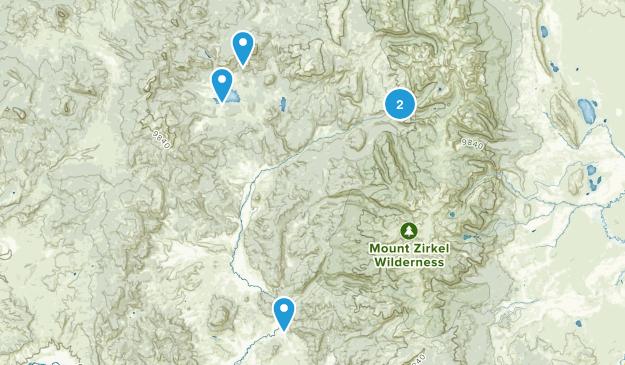 Clark, Colorado Dog Friendly Map