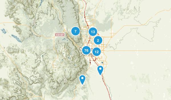 Colorado Springs, Colorado Birding Map