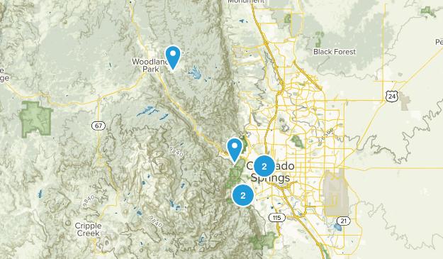 Best Scenic Driving Trails near Colorado Springs, Colorado | AllTrails