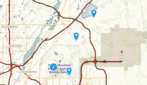 Commerce City, Colorado Birding Map