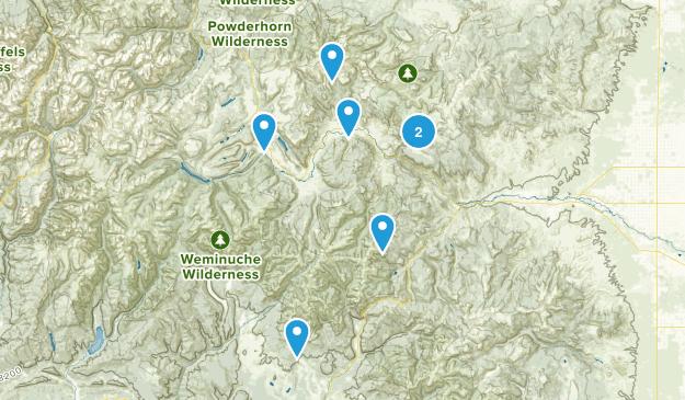 Creede, Colorado Views Map
