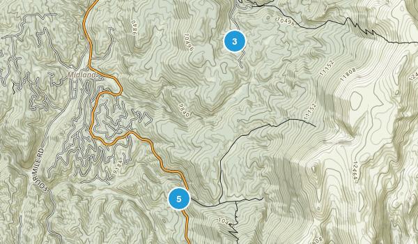 Cripple Creek, Colorado Walking Map