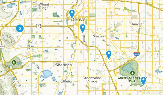 Denver, Colorado Dog Friendly Map