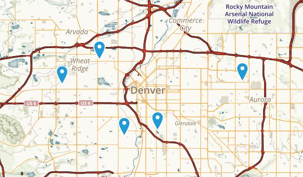 Best Lake Trails Near Denver Colorado Photos Reviews - Denver colorado on map of us