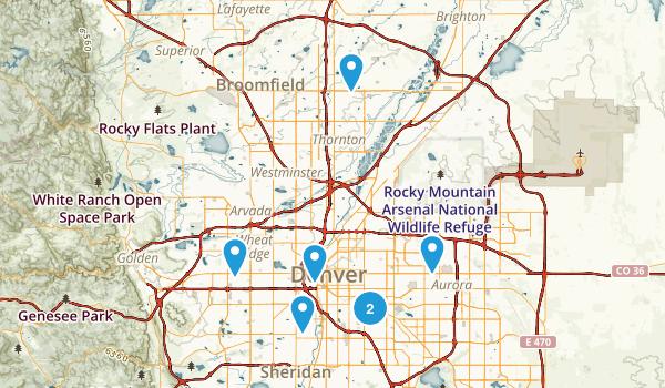 Denver, Colorado Views Map