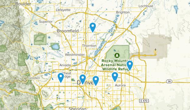 Denver, Colorado Wildlife Map