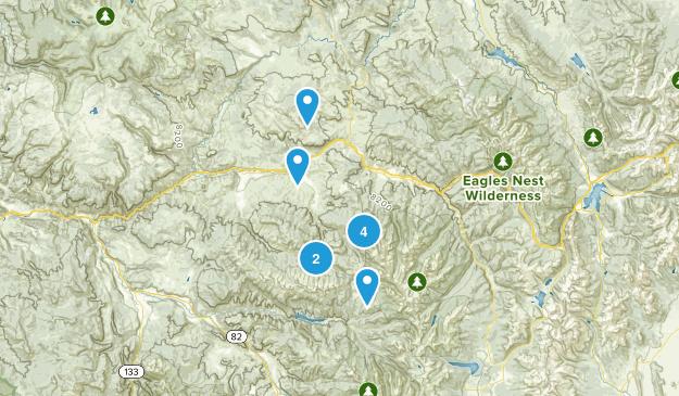 Eagle, Colorado Forest Map