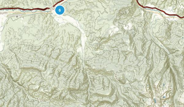 Eagle, Colorado Mountain Biking Map
