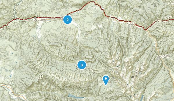 Eagle, Colorado Walking Map