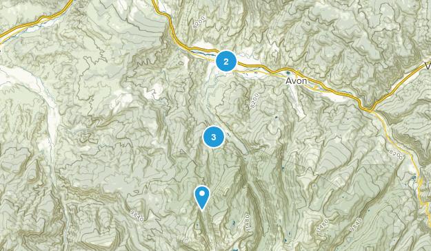 Edwards, Colorado Hiking Map