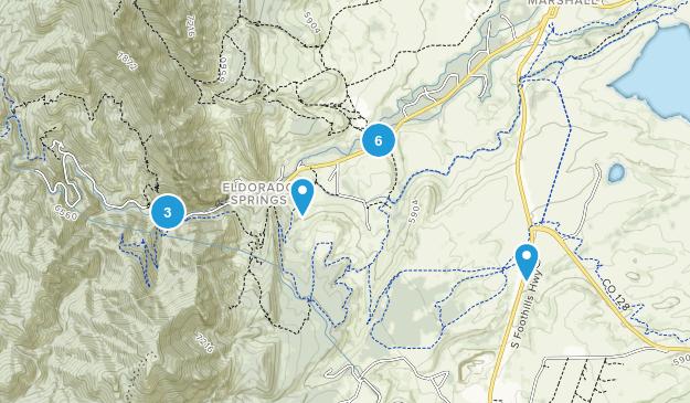 Eldorado Springs, Colorado Birding Map