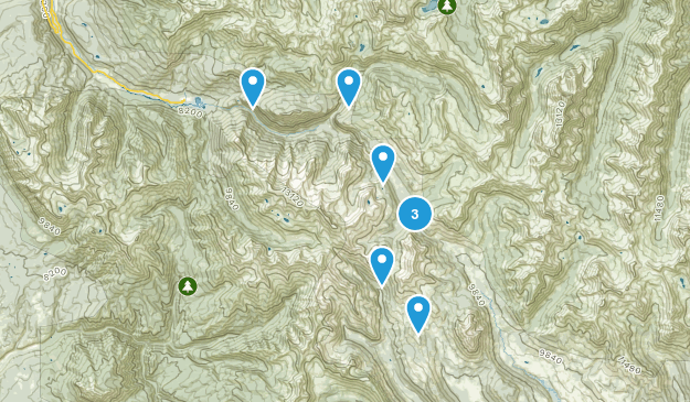Elkton, Colorado Hiking Map