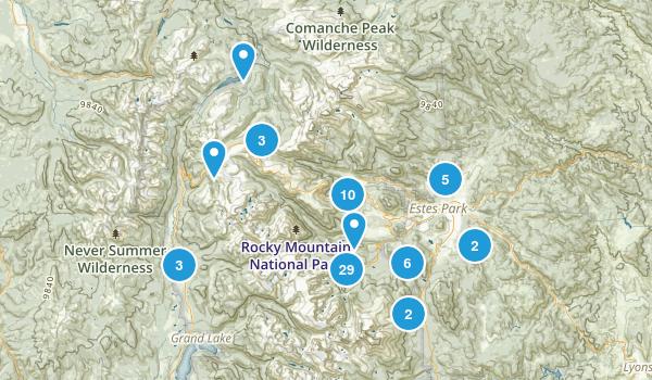 Estes Park, Colorado Birding Map